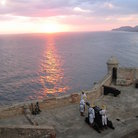 Picture - Sunset seen from Castillo de San Pedro del Morro, Santiago de Cuba.