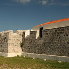 Picture - A defensive wall of Castillo de San Salvador de la Punta in Old Havana.