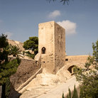 Picture - Tower of Castillo Santa Barbara.