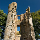Picture - Ruins of a tower at Castle Douglas.