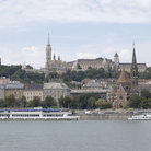 Picture - Buda, a culturally important area recognized by UNESCO with Matthias Church, Budapest.