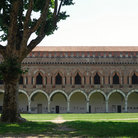 Picture - Castle of the Visconti in Pavia.