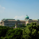 Picture - The Castle Palace in Budapest.