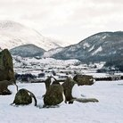 Picture - Winter at the Castlerigg stone circle, Keswick.