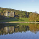 Picture - View of the Castlewellan Castle from the water.
