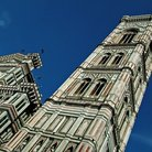 Picture - One of the great landmarks of Florence is the Campanile, the cathedral belfry.