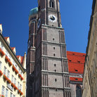 Picture - Tower of Frauenkirche in Munich.