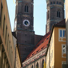 Picture - Frauenkirche (Cathedral Church of Our Lady) in Munich.
