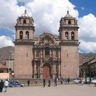 Picture - Cathedral of Cusco seen from the Plaza de Armas was begun in 1559.