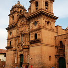 Picture - Facade of the Cusco Cathedral.