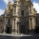 Picture - Façade of the Santa Maria Cathedral in Murcia.