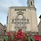 Picture - Cathedral in Girona / Gerona.
