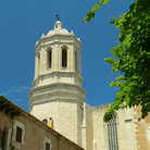 Picture - Close up of Girona Cathedral.