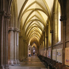 Picture - Right Aisle of Wells Cathedral.