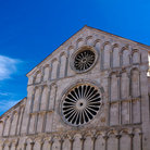 Picture - Architectural detail of the Cathedral of Anastasia in Zadar.