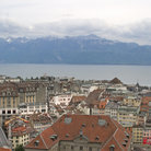 Picture - Views from the Cathedral Tower, Lausanne.