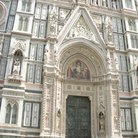 Picture - Main entrance of Santa Maria del Fiore in Florence.