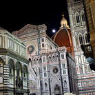Picture - View of Duomo Santa Maria del Fiore in Florence at night.