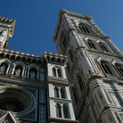 Picture - Tower of the Santa Maria del Fiore Cathedral in Florence.