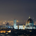 Picture - The Duomo di Firenze at night.