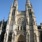 Picture - Facade of the Cathedral of St Andre in Bordeaux.