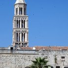 Picture - The tower of St Duje in Split.
