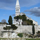 Picture - The Cathedral of St Euphemia in Rovinj.