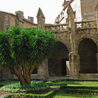 Picture - Cloister of the Cathedral in Narbonne.