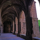 Picture - Corridor of the cloister of Narbonne Cathedral.