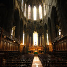 Picture - Interior of the Cathedral in Narbonne.