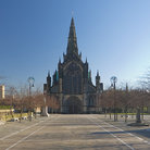 Picture - Front of the ancientCathedral of Glasgow.