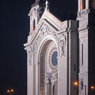 Picture - Cathedral of St Paul at night, St Paul, Minnesota.