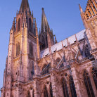 Picture - Cathedral in Regensburg.