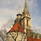 Picture - Cathedral of the Assumption of the Blessed Virgin Mary in Zagreb.