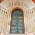 Picture - The grand entrance to the Cathedral of the Immaculate Conception in Cuenca.