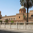 Picture - Exterior of the cathedral of Palermo.