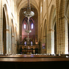 Picture - Interior of the Pamplona Cathedral.