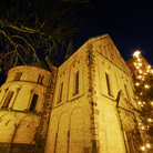 Picture - A Christmas tree at the Cathedral in the Old Town of Ribe.