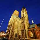 Picture - Exterior of the Ribe Cathedral.