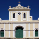 Picture - The front of San German Cathedral.