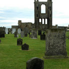 Picture - Ruins of the cathedral at St Andrews.