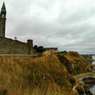 Picture - The ocean front ruins of St Andrew Cathedral.