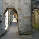 Picture - Passage way in Winchester Cathedral.