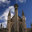 Picture - Spires of the Winchester Cathedral.