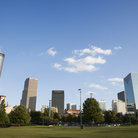 Picture - Atlanta skyline seen from Centennial Olympic Park.