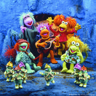 Picture - Fraggle Rock group at the Center for Puppetry Arts in Atlanta, GA.