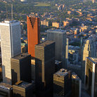 Picture - Overview of Toronto's Financial District.
