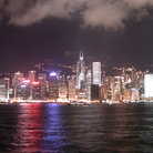 Picture - View of Hong Kong at Victoria Harbor.