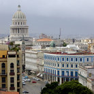 Picture - View over Havana with the Capitol building.