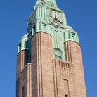 Picture - Trainstation tower in Helsinki.